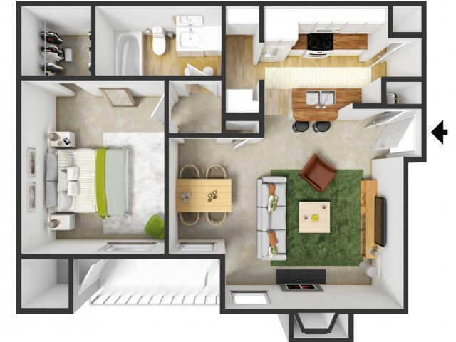 Fairmont Floorplan at Signature Place